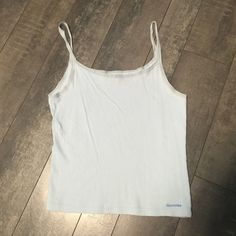Abercrombie light blue tank top *final price* Abercrombie light blue tank top size large Abercrombie & Fitch Tops Tank Tops