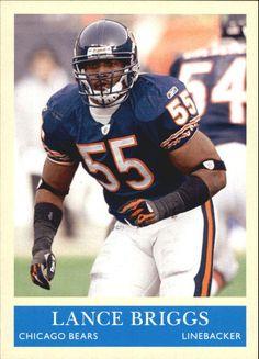 2009 Philadelphia Chicago Bears Football Card #38 Lance Briggs | Sports Mem, Cards & Fan Shop, Sports Trading Cards, Football Cards | eBay!