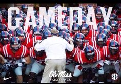 With a win. Ole Miss Football, Sec Football, Ole Miss Rebels, Alma Mater, Down South, Mississippi, Oxford, Pride, Southern