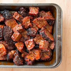 Cook's Country - Barbecued Burnt Ends.  Spicy, Tangy Kansas City, Missouri style.  BBQ recipe