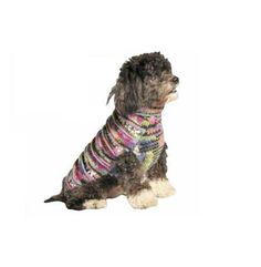Chilly Dog Purple Woodstock Dog Sweater 3XX-Large