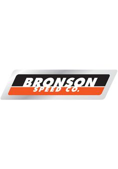 Bronson-Speed-Co. Strip-Logo-Decal - titus-shop.com  #Misc. #AccessoriesMale #titus #titusskateshop