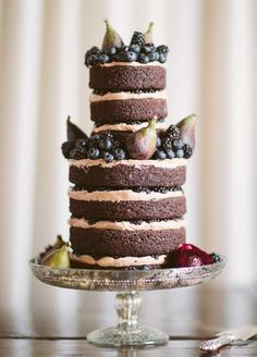 20 Naked Cakes Perfect for Autumn Weddings   SouthBound Bride