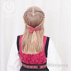#hairvideo for the #heartbraid I did on Em for our national day ❤️💙 Definitely the most popular braid when I'm giving braiding classes or at braiding events 👌 // #hårvideo for #hjerteflette som jeg laget på Emma til 17. mai ❤️💙 Helt klart den mest etterspurte fletta når jeg holder flettekurs eller er ute på fletteoppdrag 👌 Heart Braid, Hair Videos, Hair Styles, Fashion, Hair Plait Styles, Moda, Fashion Styles, Hair Makeup, Hairdos