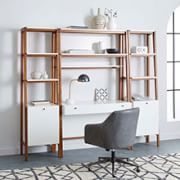 west elm's home office furniture collections come in a variety of options that will fit in any space. Contemporary Modern Furniture, Furniture Design Modern, Office Furniture Collections, Modern Wall Desk, Family Living Rooms, Furniture Design, Outdoor Furniture Decor, Wall Desk, Furniture