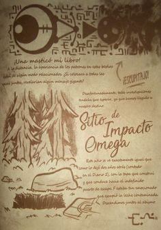 Read 60 from the story Diario 3 Gravity Falls by (Ale) with 330 reads. Libro Gravity Falls, Gravity Falls Journal, Grabity Falls, Journal 3, Batman Comics, The Fool, Draw, Anime, Reading