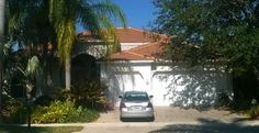 This is a completed Entegra Estate Carmel colored roof in Weston, FL