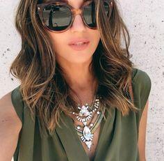 Medium Hair Cuts, Long Hair Cuts, Medium Hair Styles, Curly Hair Styles, Fall Hair Cuts, Medium Long Hair, Medium Brown, Brunette Hair With Highlights, Brown Blonde Hair