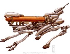 Robots: Needle by Keith Thompson