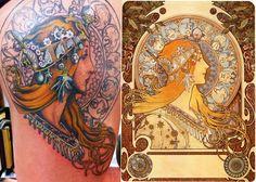 """""""Zodiac"""" by Alphonse Mucha"""