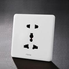 多五孔插座 厂家直销  多功能五孔插座 多用开关插座面板
