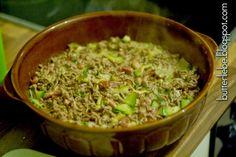 Zucchini-Hack-Auflauf von butterliebe.blogspot.com Rezept für LCHF  Low Carb High Fat, Atkins, Skaldeman, Keto, ketogenic