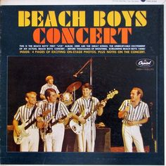 Beach Boys Concert Vinyl LP Record Album - First Live Album with booklet! The Beach Boys, Long Tee, Lp Vinyl, Vinyl Records, Vinyl Music, Vinyl Art, Rock And Roll, The Ventures, Little Prayer