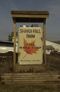 Shaver Hill Farm will be hosting their open house and will be serving pancake breakfast all weekend long.
