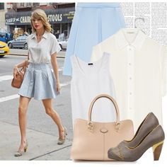 Dress like Taylor Swift by megi32 on Polyvore featuring Marc Jacobs, Joseph, Poetic Licence and Tod's