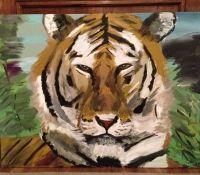 Tiger by Bess Turner Art