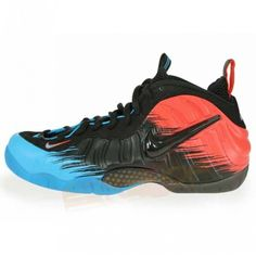 innovative design 3f273 7db91 Nike Air Foamposite Pro Prm Spiderman Vivid Blue Black Lt Crimson 616750 400