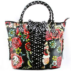 Iron Fist Ladies Hooters Handbag Black Buy Online Direct from Iron Fist - Iron Fist - beautiful bag, I would love to own this!!