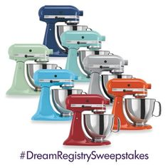 KitchenAid Stand Mixer #DreamRegistrySweepstakes