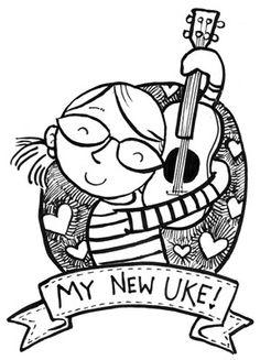 I hope I will be as happy as she when I win Luna resonator ukulele :)