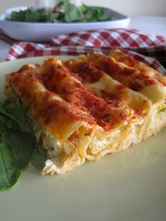 Cannelloni with anthotiro and vegetables Greek Recipes, Baby Food Recipes, Cooking Recipes, Greek Cooking, Cooking Time, Different Recipes, Other Recipes, Low Cal Diet, Food Dishes