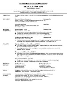 Resume for Master Degree Civil Engineering - http://resumesdesign.com/resume-for-master-degree-civil-engineering/