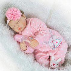 Pursue Baby Alive Adora Dolls Realistic Reborn Baby Girl Soft Silicone Lifelike Newborn Doll Sleep for Sale(Close Eyes) Real Baby Dolls, Baby Doll Toys, Realistic Baby Dolls, Newborn Baby Dolls, Baby Girl Dolls, Boy Doll, Real Doll, Baby Girls, Reborn Baby Girl