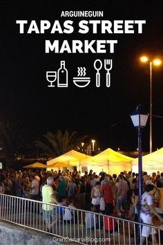 Tapas Street Market Arguineguin Gran Canaria