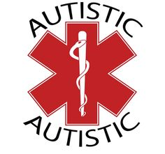 Autistic Medical id Alert Temporary Tattoos. This is a great idea for the zoo or theme parks! Can't be wiggled off like bracelets