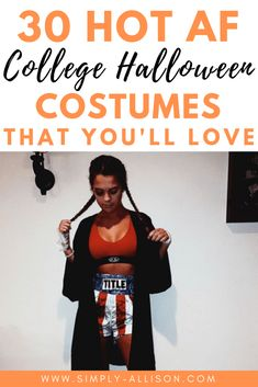Here are the best of the best halloween costumes for girlsThe Hottest Halloween Costume Ideas For Here are 30 Insta-worthy Halloween costume ideas for college students.The best halloween costume ideas that I ever seen. Easy College Halloween Costumes, Halloween Costumes For Girls, College Costumes, Thing 1, College Students, Costume Ideas, College Organization, College Hacks, Bestfriends