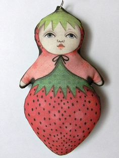 Monster Contemporary Folk Art Doll Zoee Bug by CartBeforeTheHorse