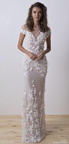 Dimitrius Dalia 2018 Wedding Dresses - World of Bridal Bridal Dresses, Bridesmaid Dresses, Prom Dresses, Mermaid Dresses, Bridesmaids, Wedding Attire, Wedding Gowns, Wedding Bands, Wedding Favors