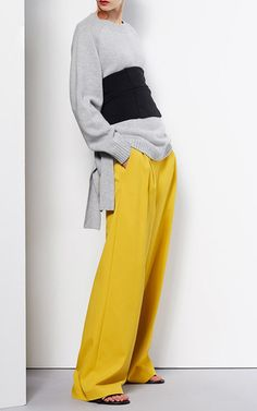 Tibi---The Designer: If there was such a thing as a girlish tomboy look, Amy Smilovic would be the designer known for it.   This Season It's All About: Effortless pieces that carry a cool sense of ease (think pants with an athleisure feel and complete outfits formed from second-skin knits).   The Pieces to Buy: Smilovic's take on the corset: one that everyone from a fashion girl to the trend-cautious can pull off.