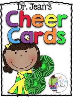 FREEBIE cheer cards