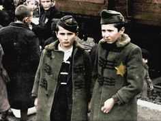 Two-part documentary 'Auschwitz Untold in Color' to air in UK and US with unprecedented touched-up death camp images; shows Jewish resistance, cultural genocide, murder of Romani Holocaust Memorial, Holocaust Survivors, Color Television, The A Team, Second World, Image Shows, The Guardian, New Image, Bebe
