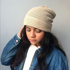 Handmade Hippie Beanie for men or women Our handmade hippie beanie is up for grabs. This is a one of kind item. Adult Size. ❄️❄️❄️ Accessories Hats