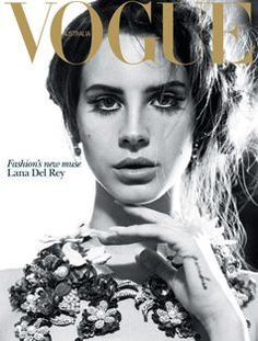 Lana Del Rey for Vogue Australia October 2012. Photographer: Nicole Bentley.