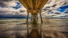 Under Okaloosa Island Pier by Stuart Schaefer on 500px