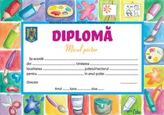 Diplome Teacher Supplies, School Life, My Job, Certificate, Appreciation, Arts And Crafts, Thankful, Party, High School Life