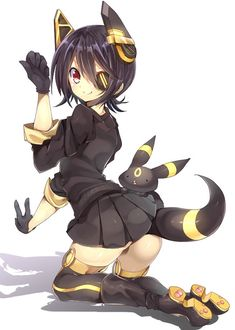 No.197 Umbreon Gijinka