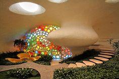 La fantasía que nos recrea el arte en vidrio en Casa Nautilus, México.