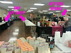 Vendor Events~ Stay til It's OVER! Home business tips #FoodandHappiness