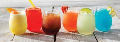 Summertime 17 oz. Water Glass