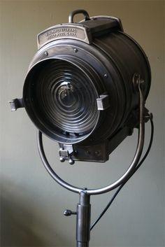 Rare projecteur cinema MCALISTER des studios Hollywood Californie pied tripod