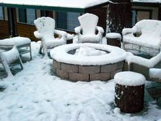 The Fire Pit covered in snow Ski Lift, South Lake Tahoe, Great Restaurants, B & B, Bed And Breakfast, Outdoor Activities, Heavenly, Fire, Snow