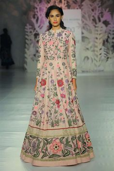 12 Easy-Breezy & Pretty Outfits To Swoon Over From Rahul Mishra's Collection Anarkali Dress, Pakistani Dresses, Indian Dresses, Pakistani Bridal, Bridal Lehenga, Lehenga Choli, Indian Attire, Indian Ethnic Wear, Ethnic Suit
