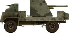 AEC Mk I Gun Carrier Deacon first model december 1941