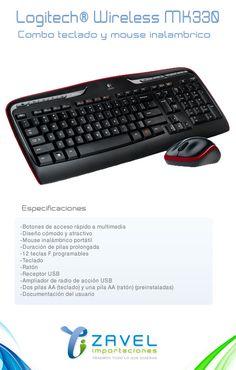 Conoce precio y disponibilidad aqui:  http://importaciones.zaveltiendavirtual.com/articulos-para-el-hogar/logitech-cordless-mk330-usb-2.4ghz-teclado-y-mouse-inalambrico.html   ventas@zaveltiendavirtual.com - Cel: 3144187160 - Bogotá Colombia