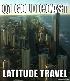 Check out the view from the Q1 at the Gold Coast sub penthouse from $350.00 p/n