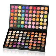 ACEVIVI Professional 120 Colors Eyeshadow Combination Pallet Women Cosmetics Set Eyeshadow Natural Makeup Palette